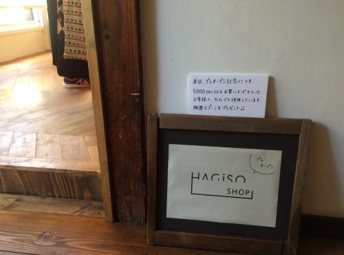 HAGISO-pre open